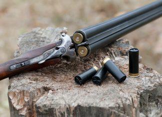 Fusil de chasse juxtapose