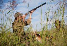 fusil de chasse superposé