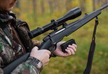 Carabine de chasse à verrou