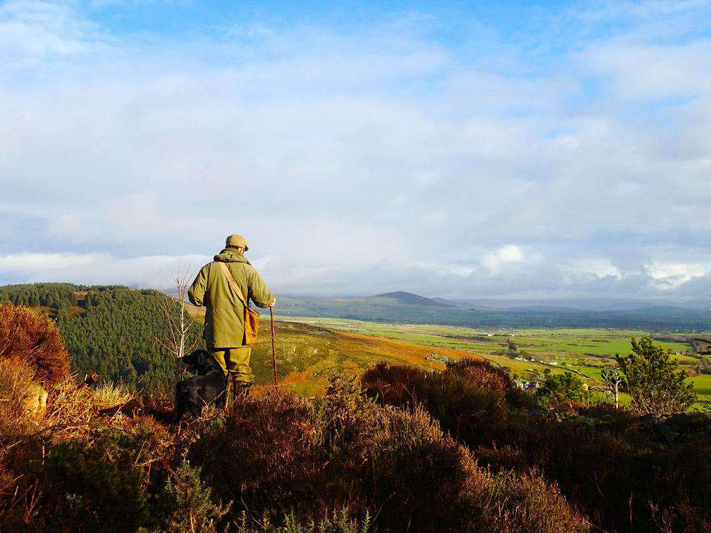 la chasse aux pays de Galles : magique