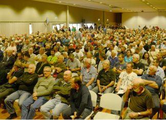 800 chasseurs réunit à la réunion sécurité dans le Var