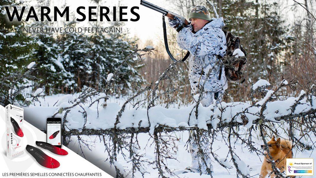 warm series, des semelles chauffantes pour la chasse