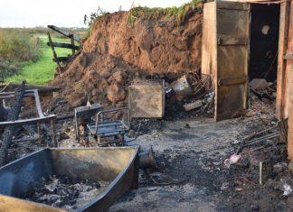4 huttiers sauvés des flammes de justesse en normandie