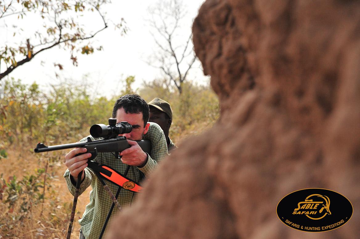 chasseur tirer un phaco au senegal