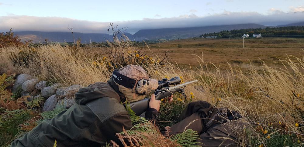 Aprés la prise en main du BDX nous partons à la chasse !