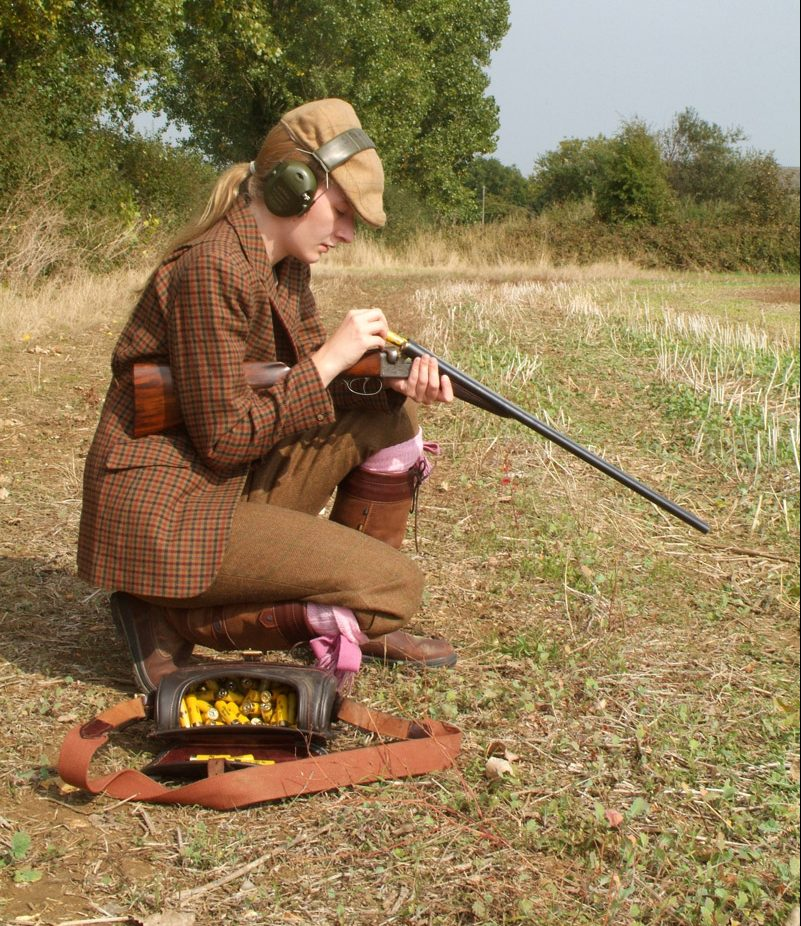 D'année en année la chasse séduit de plus en plus de femmes