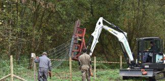 Des clôtures pour lutter contre la PPA vandalisées