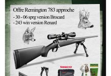 Shopping : Pack Remington affût