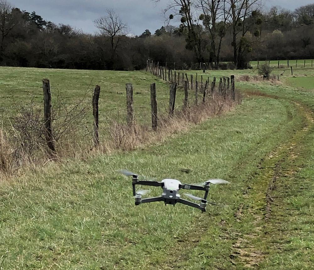 L'utilisation de drone à la chasse permet de nombreuses applications