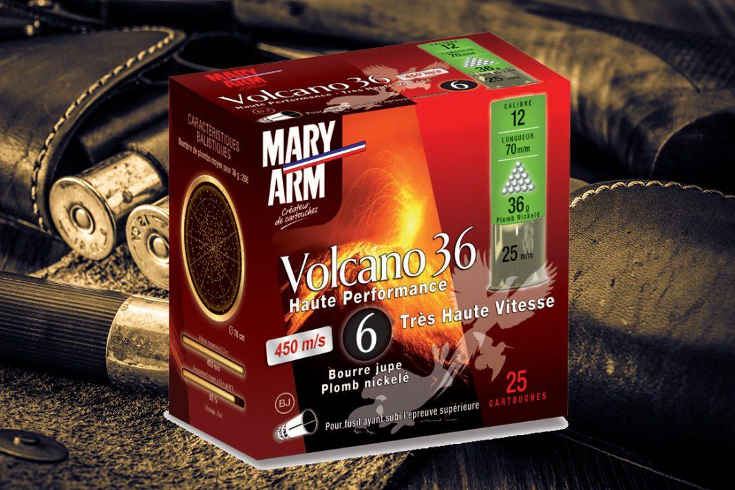 Cartouche Mary Arm VOLCANO