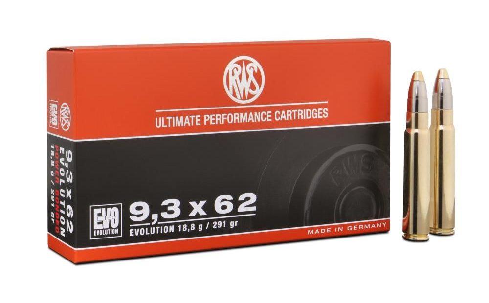 Balle RWS EVO calibre 9.3x62