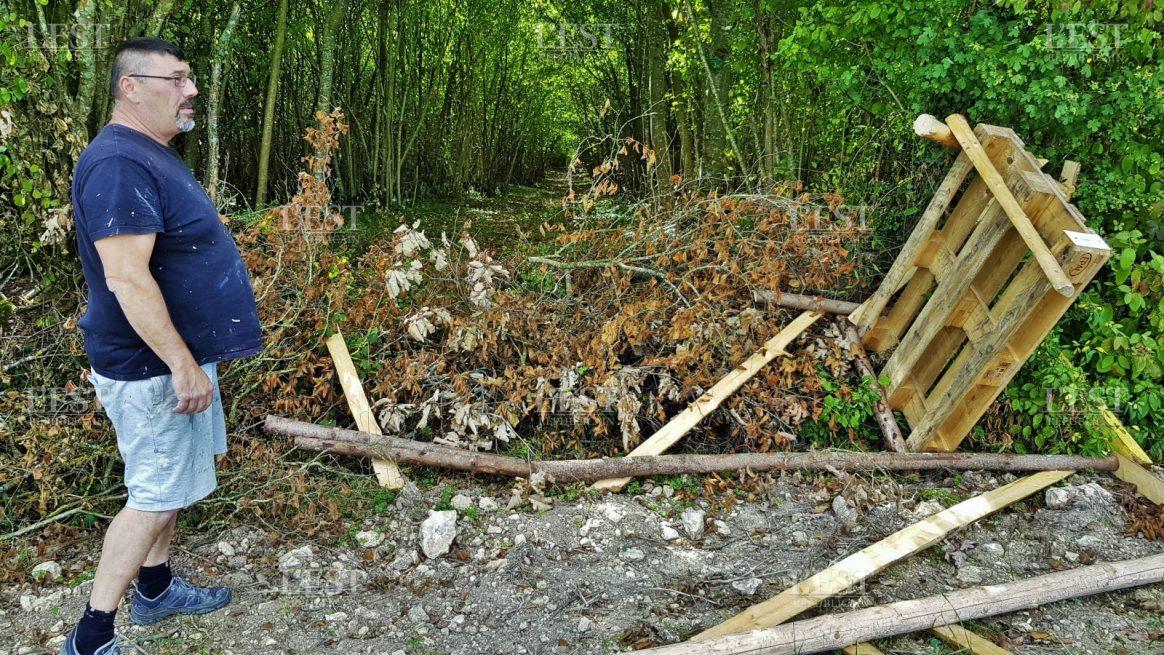 Meuse : 5 miradors de chasse détruis