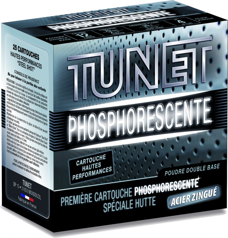cartouches tunet Nitro HV phosphorescente