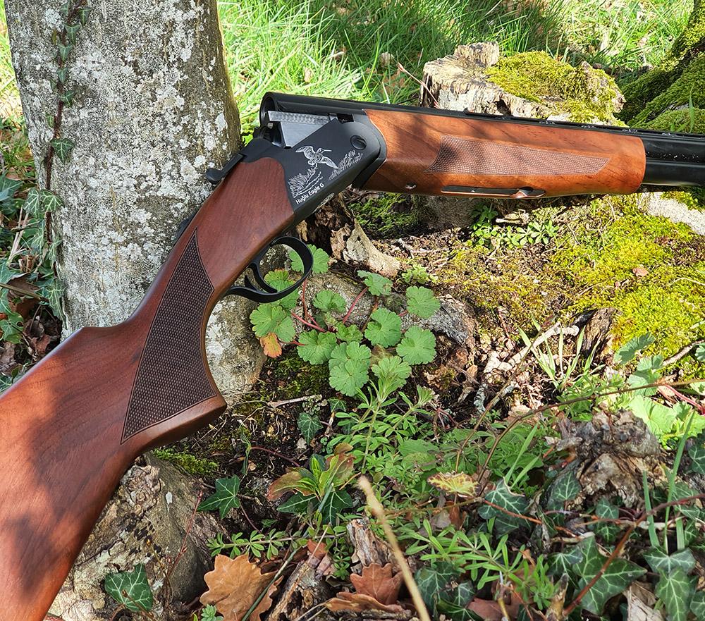 Un fusil bien fini que l'on regretterait presque d'abimer dans les ronces !