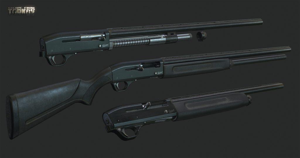 Fusil MP 153 dans le jeu Escape From Tarkov.